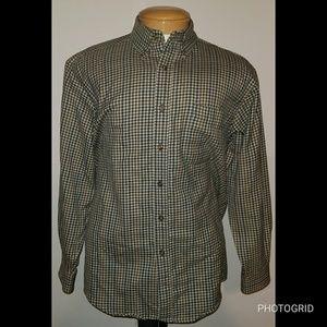 Pendleton Virgin Wool Button Up Shirt Size Medium